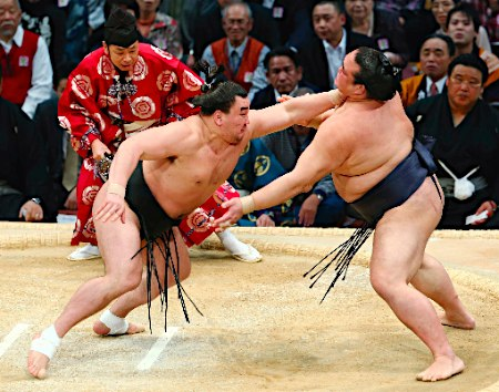 20141118 日馬富士―稀勢の里 時事