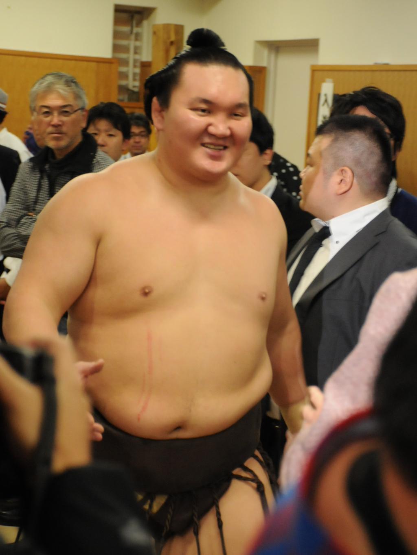 20141123 白鵬 相撲協会公式