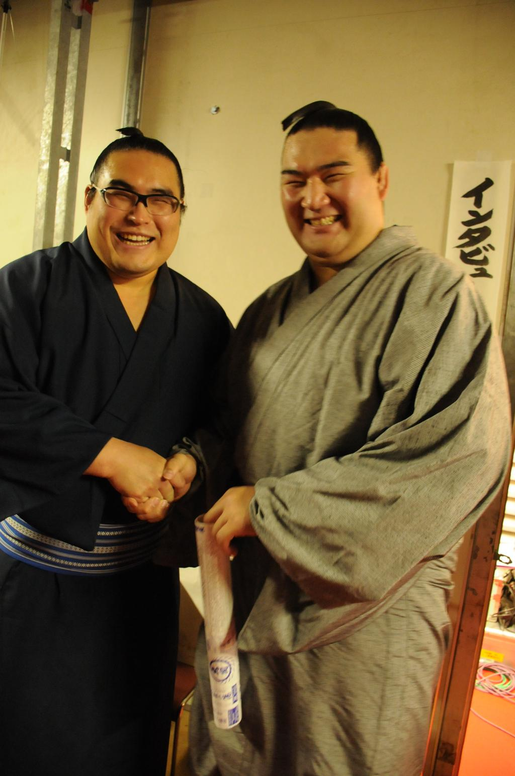 20141123 竜電と加美錦 相撲協会公式
