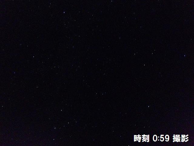 星が綺麗に輝く夜空に (2)