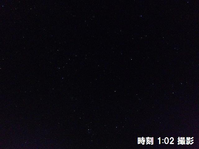 星が綺麗に輝く夜空に (3)