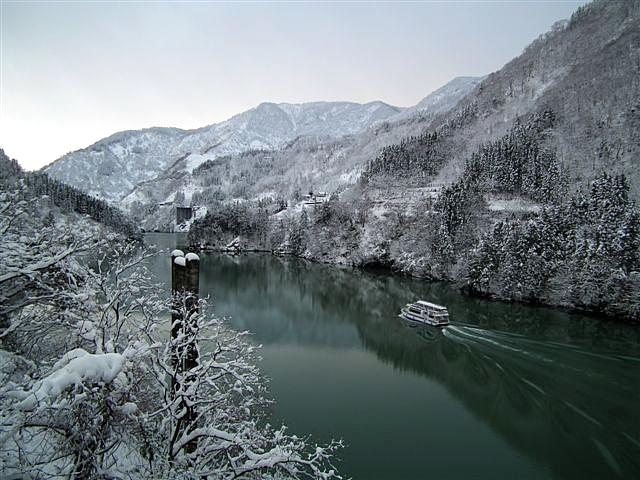 冬の庄川峡 (5)