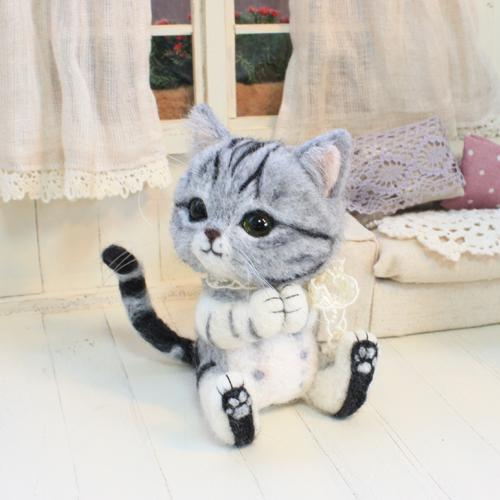 お祈り猫1