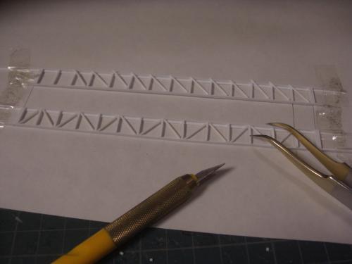 鉄道模型 吊り橋 保津峡 1