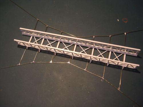 鉄道模型 吊り橋 保津峡 19