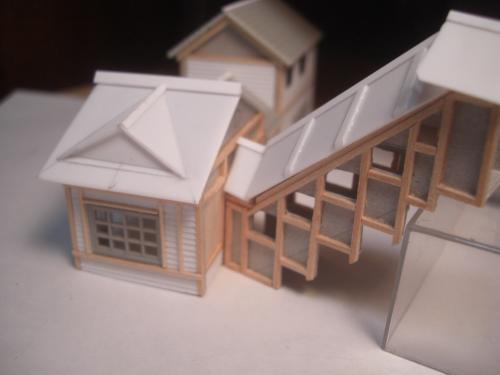 鉄道模型 ローカル線駅舎 6