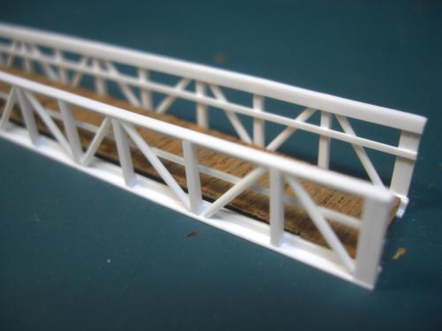 鉄道模型 吊り橋 保津峡 2