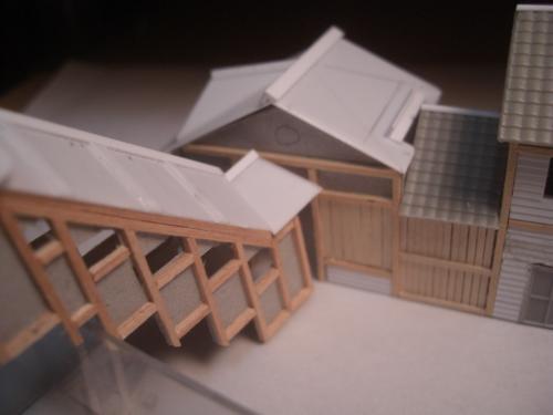 鉄道模型 ローカル線駅舎 7