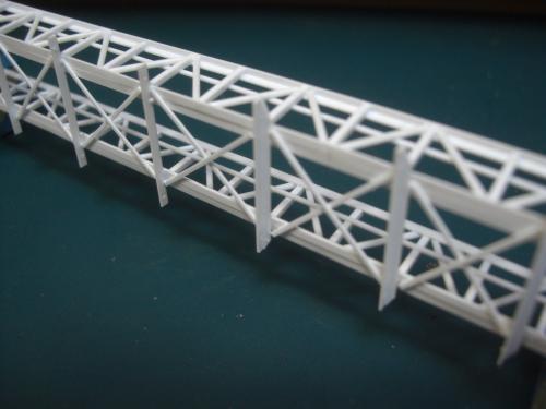 鉄道模型 吊り橋 保津峡 6