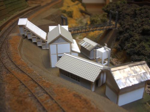 鉄道模型 ローカル駅舎 18