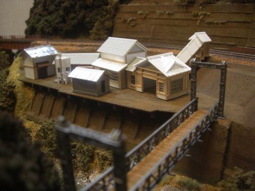 鉄道模型 ローカル駅舎 12