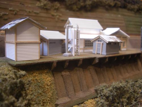 鉄道模型 ローカル駅舎 16