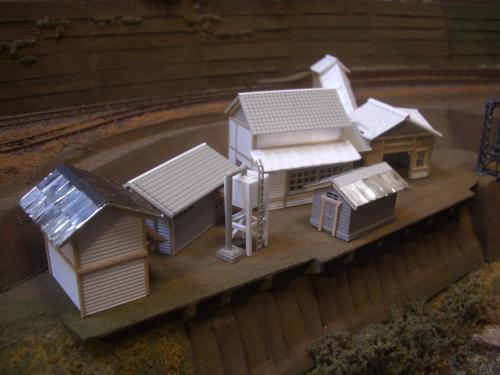 鉄道模型 ローカル駅舎 17
