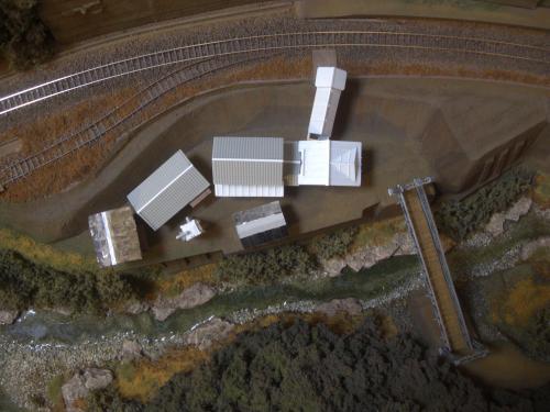 鉄道模型 ローカル駅舎 19