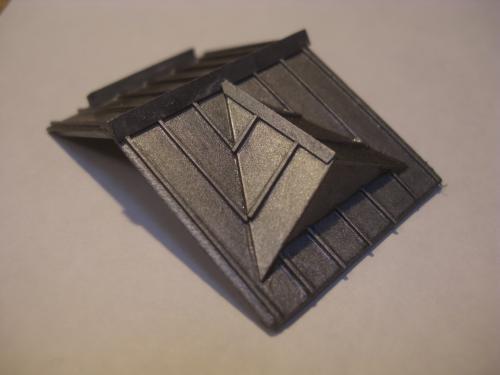 鉄道模型 ローカル駅舎 トタン屋根 2