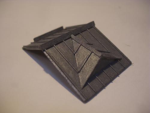 鉄道模型 ローカル駅舎 トタン屋根 4