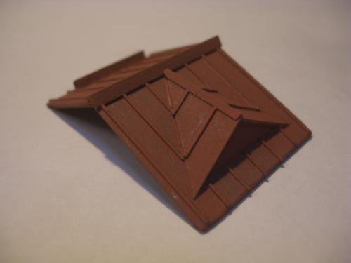 鉄道模型 ローカル駅舎 トタン屋根 7
