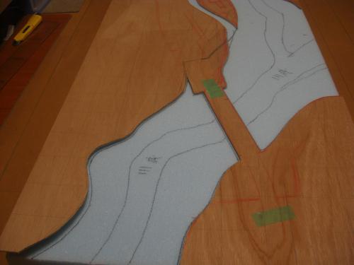 Nゲージ 渓谷線 山造成5