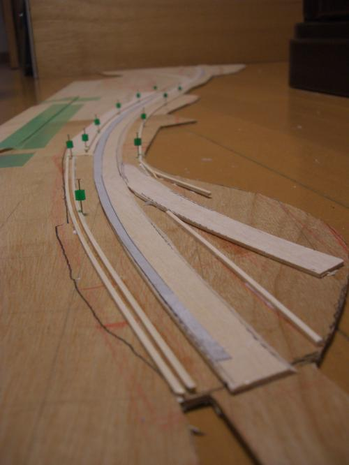 Nゲージ 渓谷線 フレキシブルレール 1