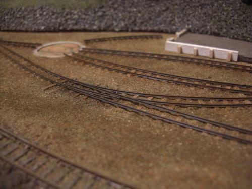 ナロー 森林鉄道 車両基地7