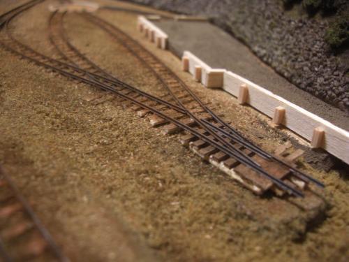 ナロー 森林鉄道 車両基地 1