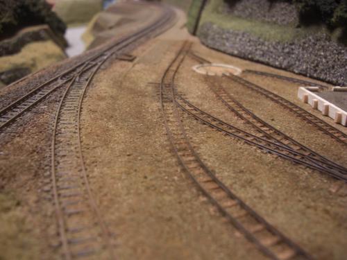 ナロー 森林鉄道 車両基地6
