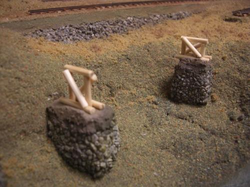 ナロー 森林鉄道 木組み陸橋 2