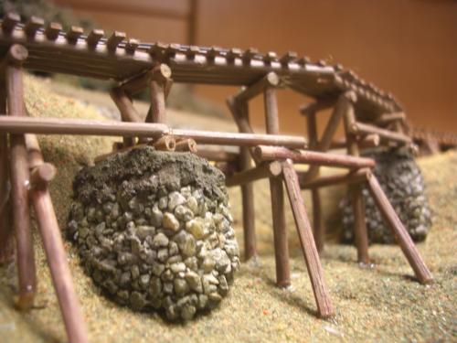 ナロー 森林鉄道 木組み陸橋 3