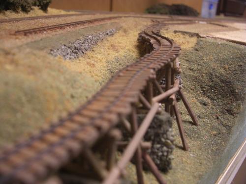ナロー 森林鉄道 木組み陸橋 4