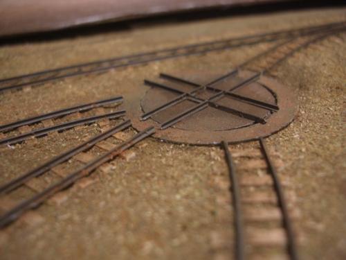 ナロー 森林鉄道 ターンテーブル
