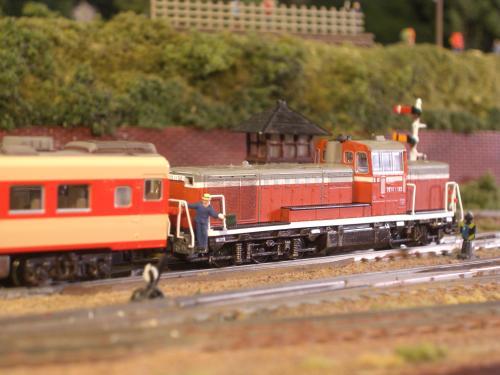 鉄道模型 キハ58 ローカル線