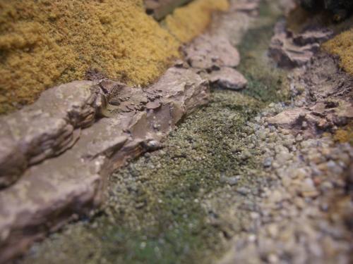 Nゲージレイアウト 渓流 2