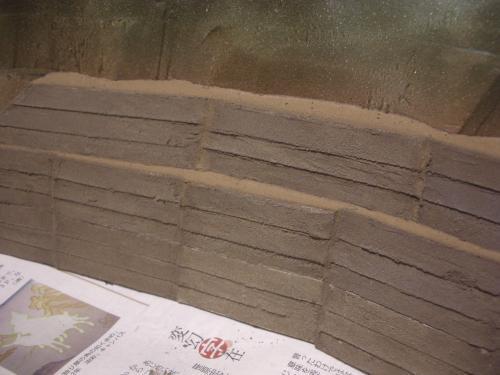 Nゲージ レイアウト 昭和コンクリート防護壁 5