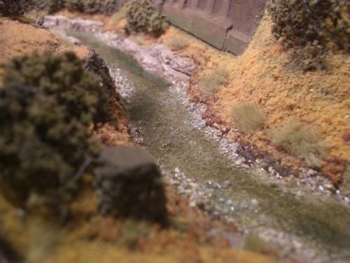 Nゲージレイアウト 水面を作る 3