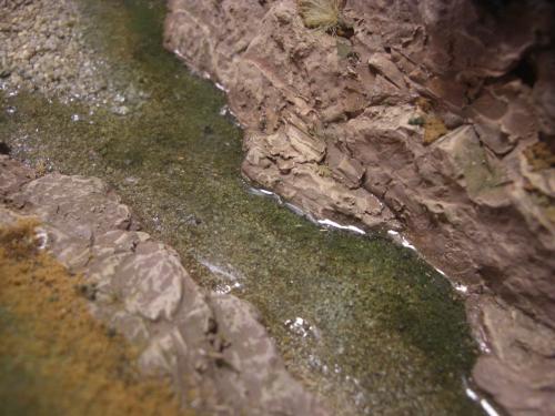 Nゲージレイアウト 水面を作る 5