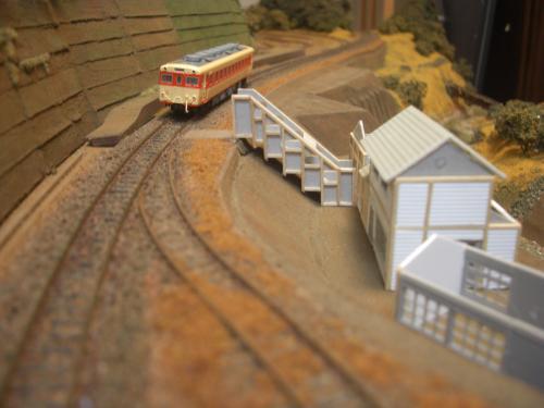 鉄道模型 駅舎 3