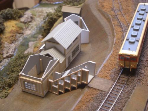 鉄道模型 駅舎 2