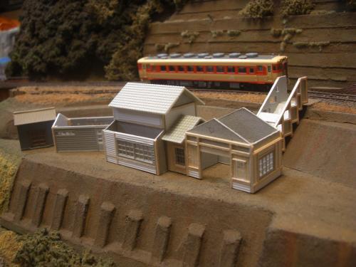 鉄道模型 駅舎 1