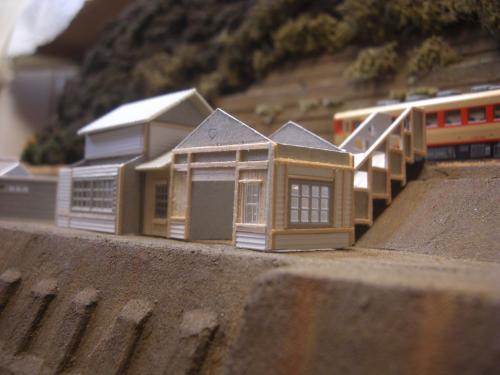 鉄道模型 駅舎 4