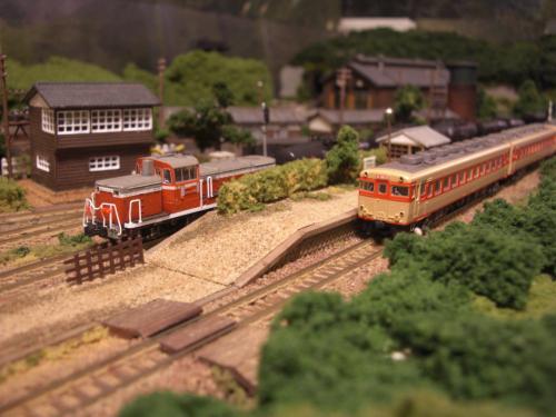 鉄道模型 キハ58 DE10