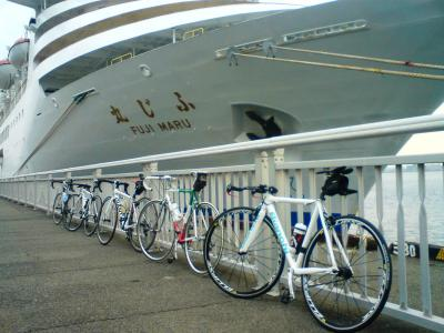 自転車並んでます