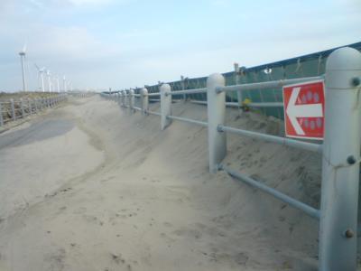 砂だらけのCR