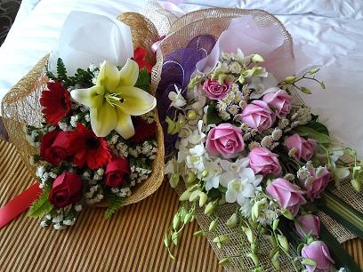 バンコク 花束