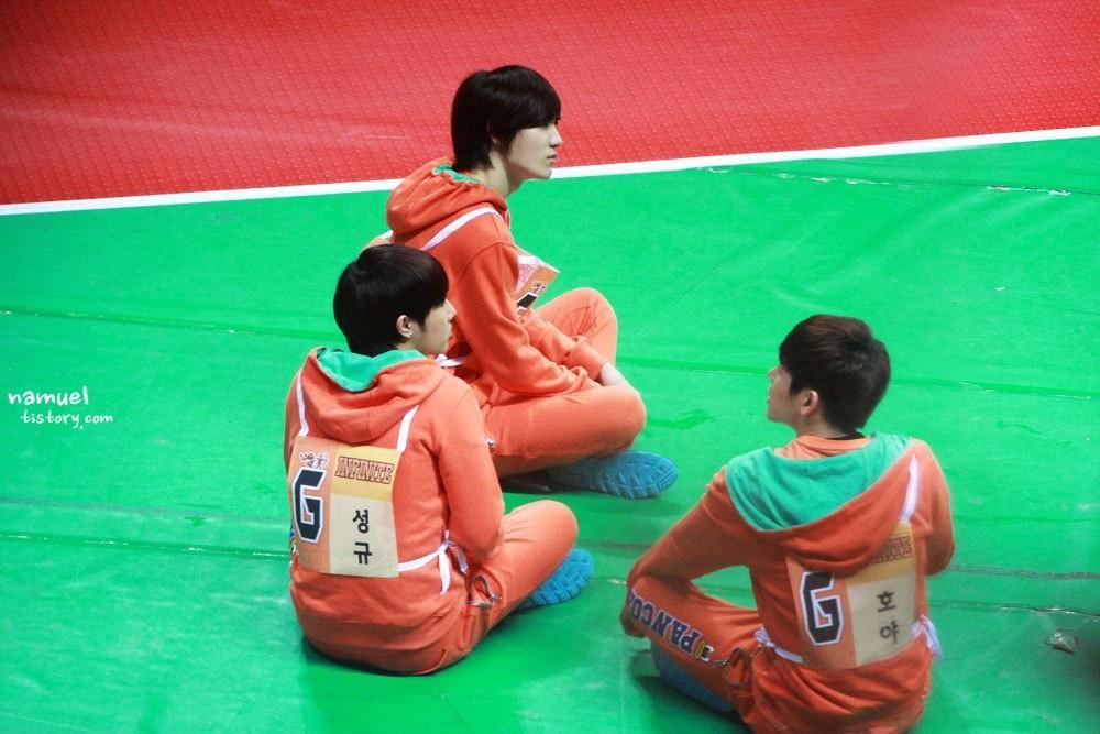 130128 ISAC - Sunggyu Sungjong Hoya 1
