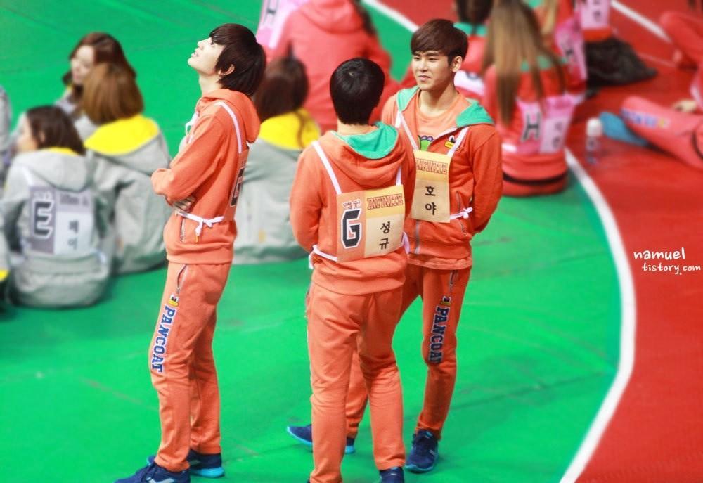130128 ISAC - Sunggyu Sungjong Hoya