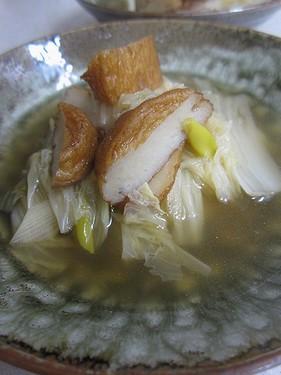 20131215 白菜とさつま揚げ煮