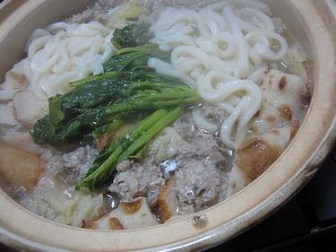 20140210 うどん鍋