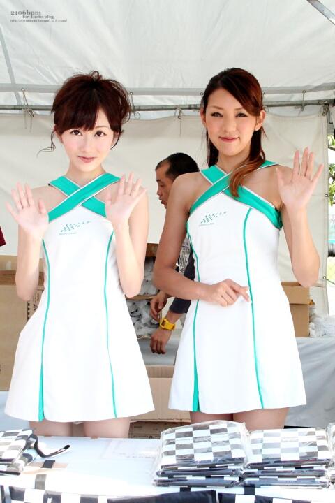松井かれん 中島彩乃 / 鈴鹿サーキットクイーン 第34期生 -FIA FORMULA 1 WORLD CHAMPIONSHIP JAPANESE GRAND PRIX SUZUKA 2012-