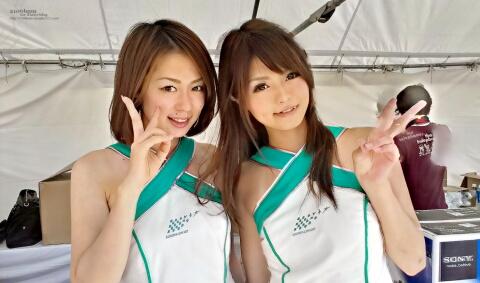 早川采伽 近澤志穂 / 鈴鹿サーキットクイーン 第34期生 -FIA FORMULA 1 WORLD CHAMPIONSHIP JAPANESE GRAND PRIX SUZUKA 2012-