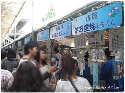 F20120721川崎大師風鈴市04